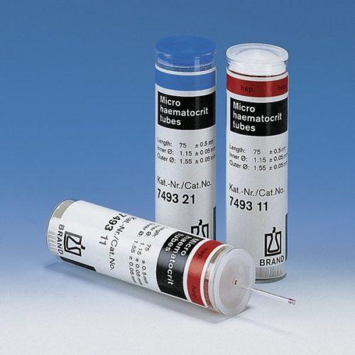 Mikrokapilary do hematokrytu - bez cechy pierścieniowej - Brand