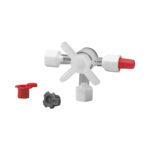 Minikranik 3-drożny - sterylny - 2-4190 - minikranik-3-drozny-niesterylny-pakowany-pojedynczo-przylacze-2-luer-zenski-1-luer-lock-meski