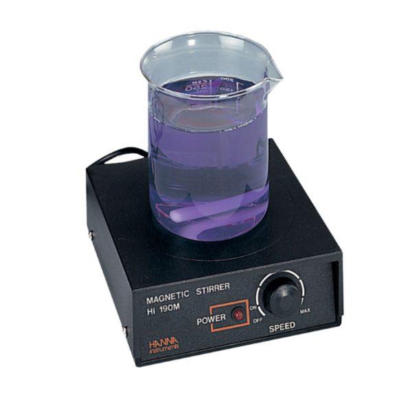 Minimieszadło magnetyczne z obudową z tworzywa sztucznego