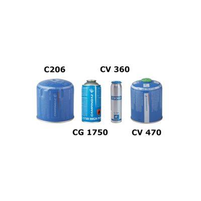 Naboje i adaptery do palników gazowych