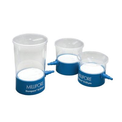 """Nakręcane na butelkę filtry próżniowe """"Steritop"""" MILLIPORE Express® PLUS z membraną z PES"""