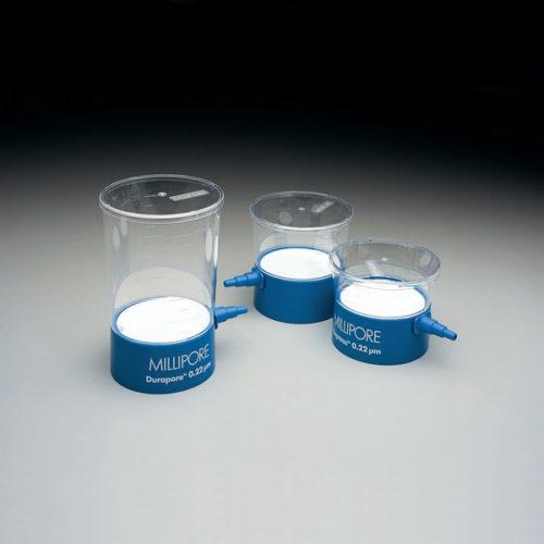 Nakręcane na butelkę filtry próżniowe Steritop MILLIPORE Express PLUS z membraną z PES