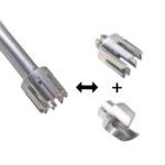 Nóż homogenizacyjny T 17 typ M - 60426-m - noz-homogenizacyjny-t-17-typ-m - 250-1500-ml - 17-mm
