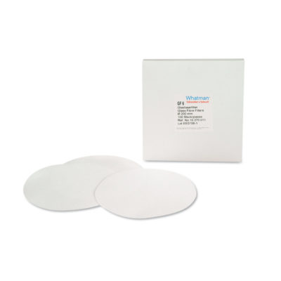 Okrągłe filtry bibułowe z włókna szklanego - typ GF92