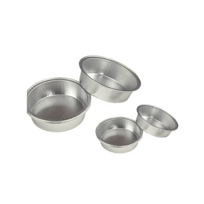 Okrągłe szalki aluminiowe
