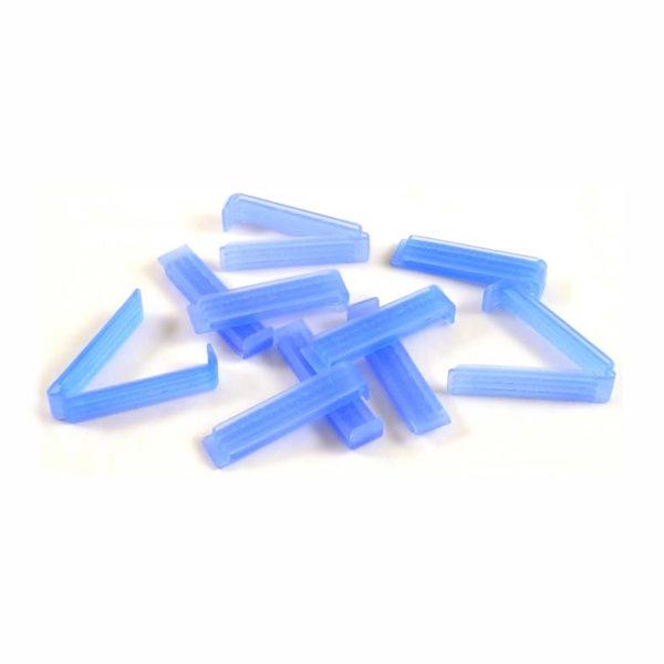 Płaskie klipsy zamykające Mediclips do membran do dializy - Medicel
