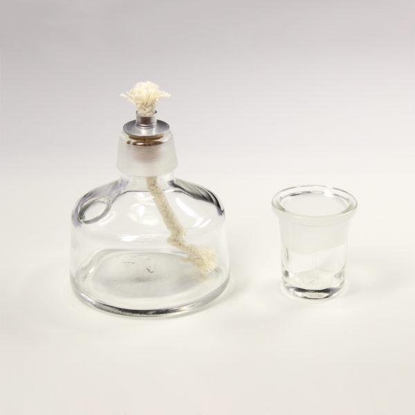 Palnik spirytusowy ze szkła sodowo-wapniowego