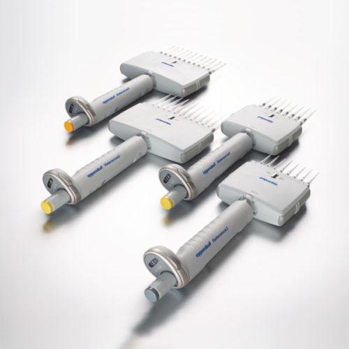 Pipety automatyczne Eppendorf Reference 2, regulowana pojemność - wielokanałowe