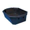 Pojemnik izolacyjny na lód, bez pokrywy - l-0014 - pojemnik-izolacyjny-na-lod-bez-pokrywy - 9-l - czarny - 490-x-370-x-140-mm