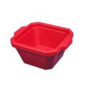 Pojemnik izolacyjny na lód, bez pokrywy - l-0009 - pojemnik-izolacyjny-na-lod-bez-pokrywy - 1-l - czerwony - 200-x-175-x-91-mm