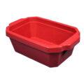 Pojemnik izolacyjny na lód, bez pokrywy - l-0013 - pojemnik-izolacyjny-na-lod-bez-pokrywy - 4-l - czerwony - 350-x-240-x-122-mm