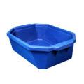 Pojemnik izolacyjny na lód, bez pokrywy - l-0015 - pojemnik-izolacyjny-na-lod-bez-pokrywy - 9-l - niebieski - 490-x-370-x-140-mm