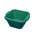 Pojemnik izolacyjny na lód, bez pokrywy - l-0008 - pojemnik-izolacyjny-na-lod-bez-pokrywy - 1-l - zielony - 200-x-175-x-91-mm
