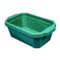 Pojemnik izolacyjny na lód, bez pokrywy - l-0012 - pojemnik-izolacyjny-na-lod-bez-pokrywy - 4-l - zielony - 350-x-240-x-122-mm
