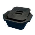 Pojemnik izolacyjny na lód, z pokrywą - l-0021 - pojemnik-izolacyjny-na-lod-z-pokrywa - 25-l-2 - czerwony - 330-x-280-x-122-mm