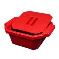 Pojemnik izolacyjny na lód, z pokrywą - l-0018 - pojemnik-izolacyjny-na-lod-z-pokrywa - 25-l-2 - czarny - 330-x-280-x-122-mm