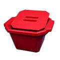 Pojemnik izolacyjny na lód, z pokrywą - l-0022 - pojemnik-izolacyjny-na-lod-z-pokrywa - 45-l-2 - czarny - 330-x-280-x-185-mm