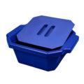Pojemnik izolacyjny na lód, z pokrywą - l-0019 - pojemnik-izolacyjny-na-lod-z-pokrywa - 25-l-2 - niebieski - 330-x-280-x-122-mm