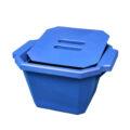 Pojemnik izolacyjny na lód, z pokrywą - l-0023 - pojemnik-izolacyjny-na-lod-z-pokrywa - 45-l-2 - niebieski - 330-x-280-x-185-mm
