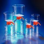 Próżniowe systemy do filtracji - Corning - n-4155 - prozniowy-system-do-filtracji-poj-150-ml-membrana-z-pes - 42-x-42-mm - 022-%c2%b5m - 12-szt - 431153