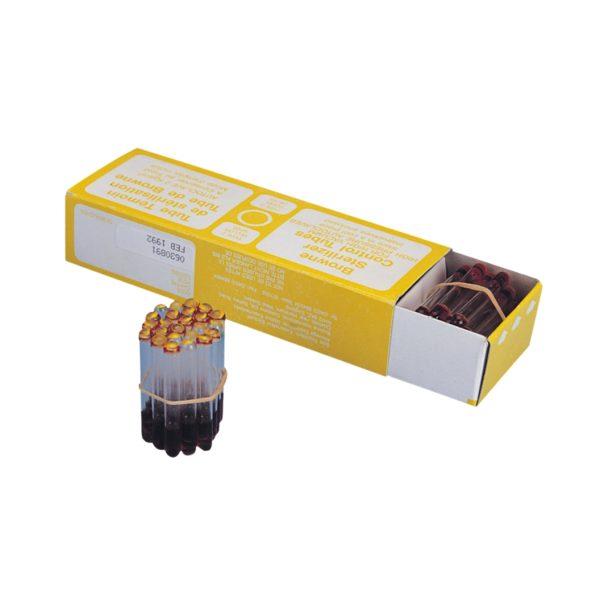 Probówki wskaźnikowe do kontroli sterylizacji w autoklawach i sterylizatorach gorącego powietrza