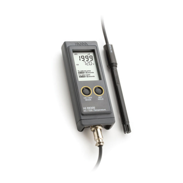 Przenośne konduktometry HI 99300 i HI 99301 - Hanna Instruments