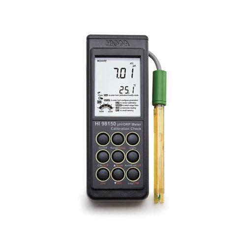 Przenośny miernik pH-mV-°C HI 98150 (firmy Hanna Instruments)