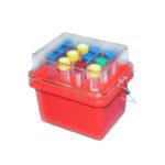 Pudełka chłodzące Mini-Cooler 0°C - b-3032 - pudelko-chlodzace-mini-cooler-0c-z-przezroczysta-pokrywka - o-16-17-mm