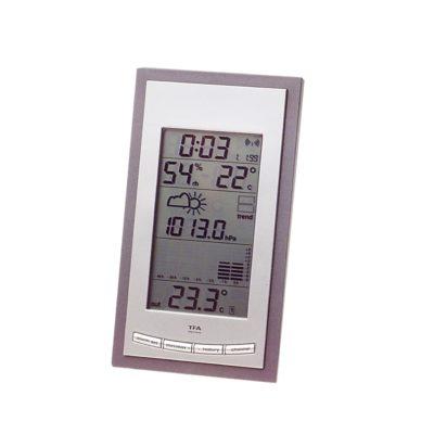 Radiostacja meteorologiczna z barometrem