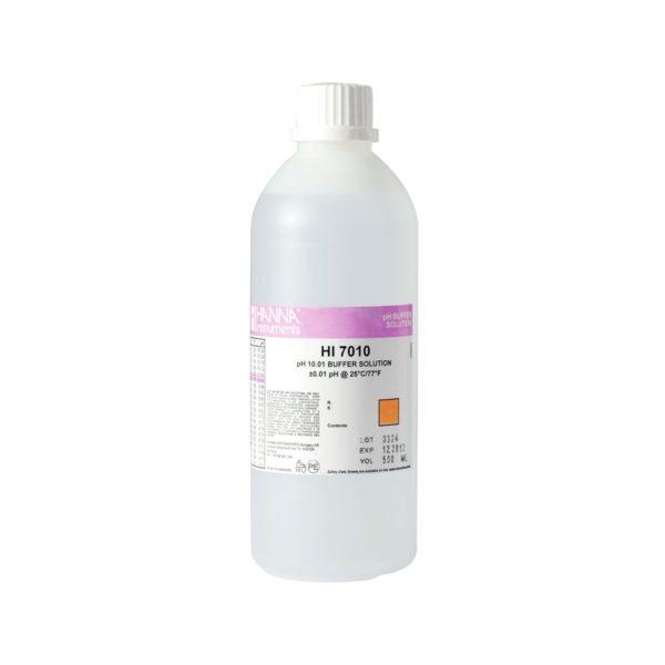 Roztwór buforowy o pH 10,01 z certyfikatem 500 ml