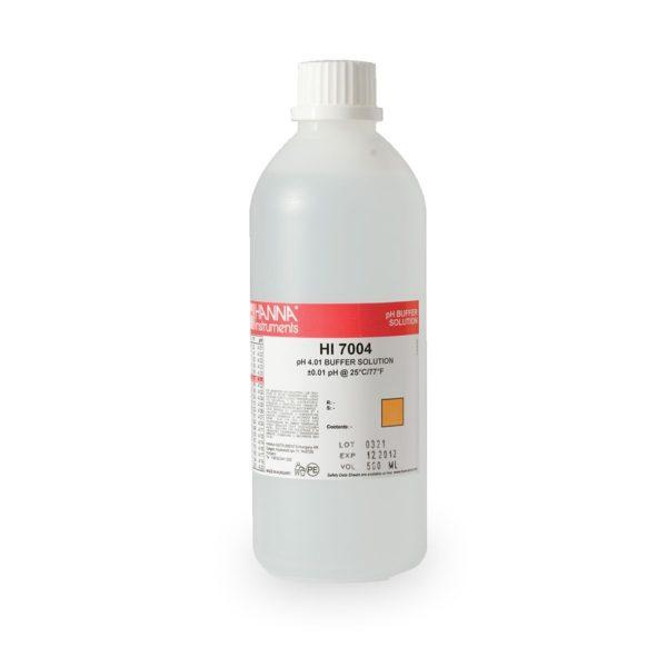 Roztwór buforowy o pH 4,01 bez certyfikatu 500 ml