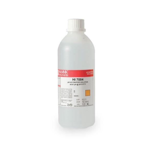 Roztwór buforowy o pH 4,01 z certyfikatem 500 ml