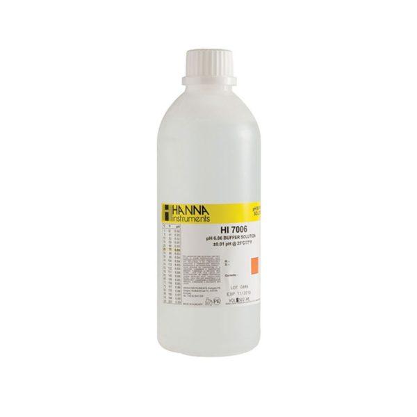 Roztwór buforowy o pH 6,86 bez certyfikatu 500 ml
