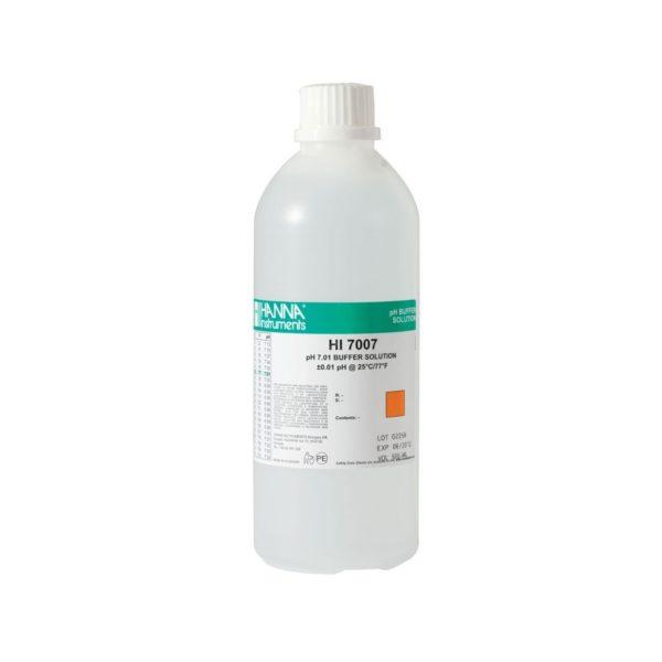 Roztwór buforowy o pH 7,01 bez certyfikatu 500 ml