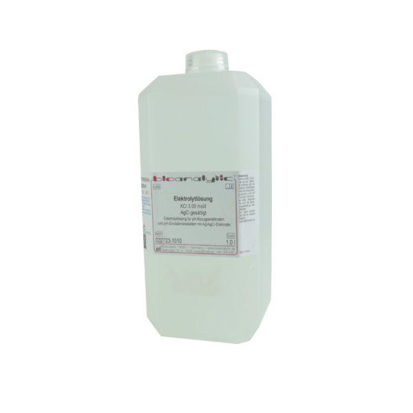 Roztwór elektrolitowy KCl + AgCl - 3 mol dm 1000 ml