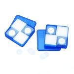 Sączki membranowe poliwęglanowe Isopore™ - b-1969 - saczki-membranowe-poliweglanowe-isopore - 13-mm - 01-%c2%b5m - bialy - 100-szt