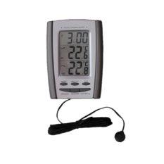 Termometr cyfrowy do pomiaru temperatury wewnątrz i na zewnątrz, zakres -50°C do +70°C