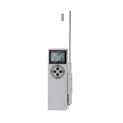 Termometr cyfrowy z funkcją alarmu, zakres -50°C do +200°C
