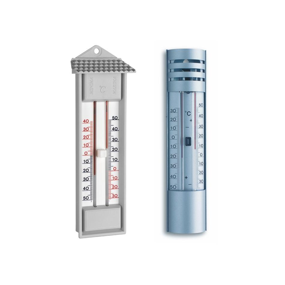 Termometry minimum-maksimum, zakres -30°C do +50°C