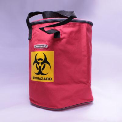Torba termoizolacyjna z oznakowaniem Biohazard