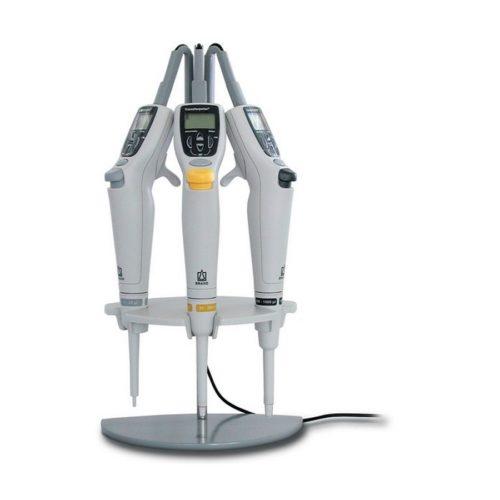 Trójstanowiskowy statyw ładujący do pipet Transferpette® Electronic