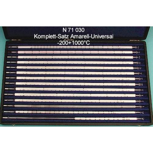 Zestaw 14 termometrów uniwersalnych zgodnych z DIN 12770