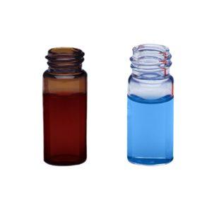 Fiolki Wheaton ze szkła przeźroczystego lub brązowego, z gwintem - 1,5 ml i 2 ml