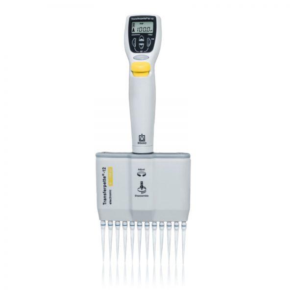 Pipety automatyczne wielokanałowe Transferpette® electronic