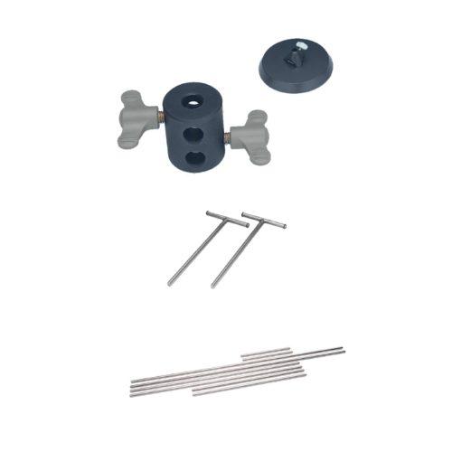 Pojedyncze elementy do montażu statywu, Stativ-Set LaboTric