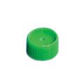 Zakrętki z PP z silikonową uszczelką - k-0355 - zakretki-z-pp-z-silikonowa-uszczelka - zielone - 780743 - 1000-szt