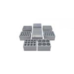 Bloki aluminiowe do termostatów blokowych - k-9463 - blok-aluminiowy-dla-20-probowek-sr-otworow-10-mm