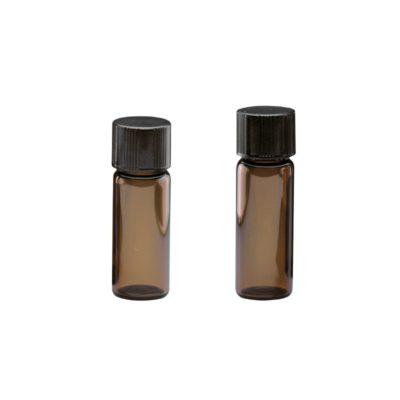 Fiolki Wheaton, brązowe z zakrętką - 1,8 ml i 2,0 ml