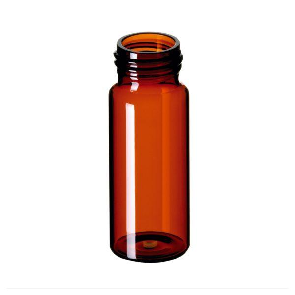 Fiolki gwintowane ND24 wg norm EPA, 30 ml, brązowy