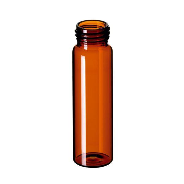 Fiolki gwintowane ND24 wg norm EPA, 40 ml, brązowy